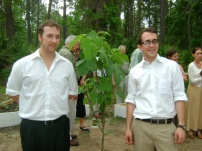 Josh and Chuck at Earth Day