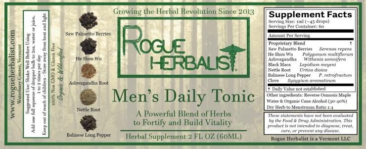 Men's Daily Tonic 2oz.