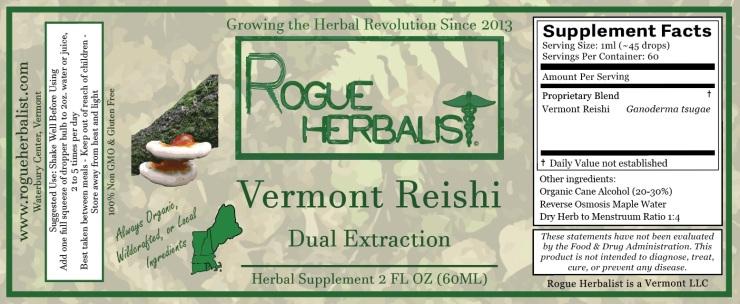 Vermont Reishi 2oz