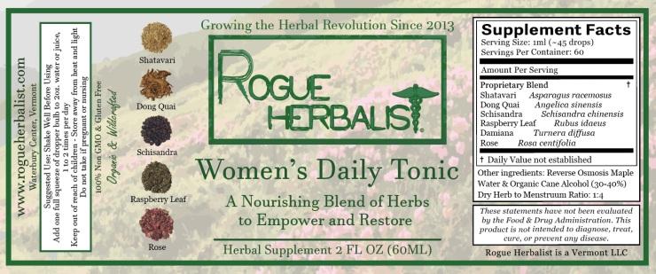 Women's Daily Tonic 2oz.